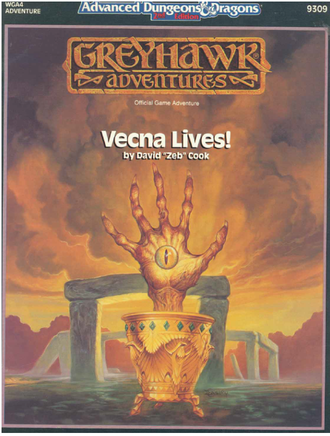 Cover of WGA4 Vecna Lives